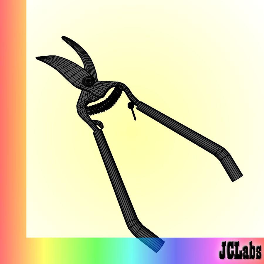 Scissors royalty-free 3d model - Preview no. 5