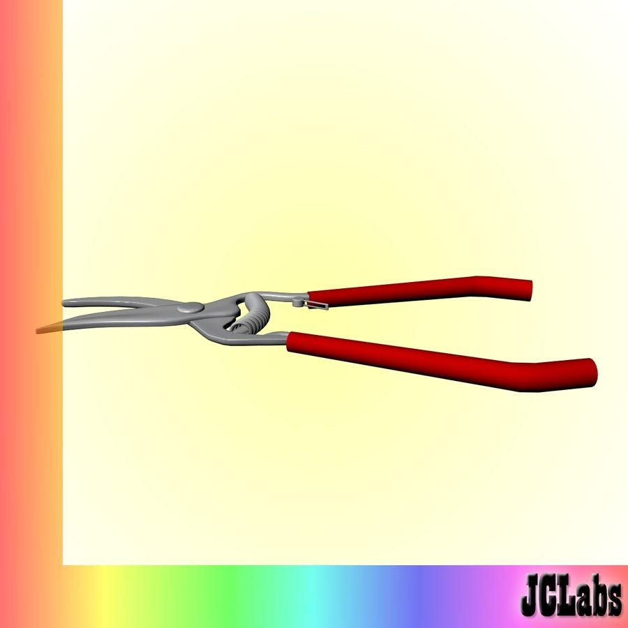 Scissors royalty-free 3d model - Preview no. 2