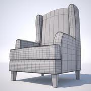 라운지 의자 3d model