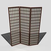 ekran pokoju 3d model