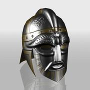 Viking Boss Helmet 3d model
