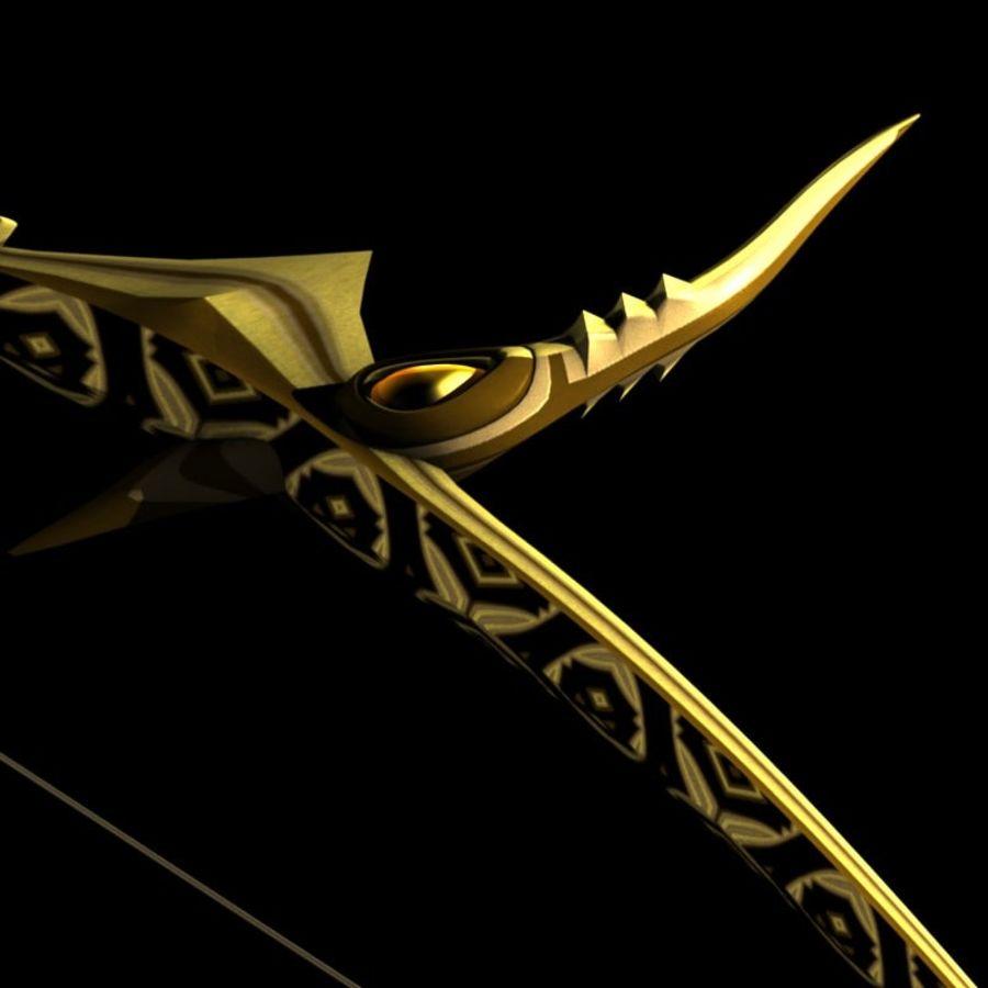 Arco con le frecce royalty-free 3d model - Preview no. 2
