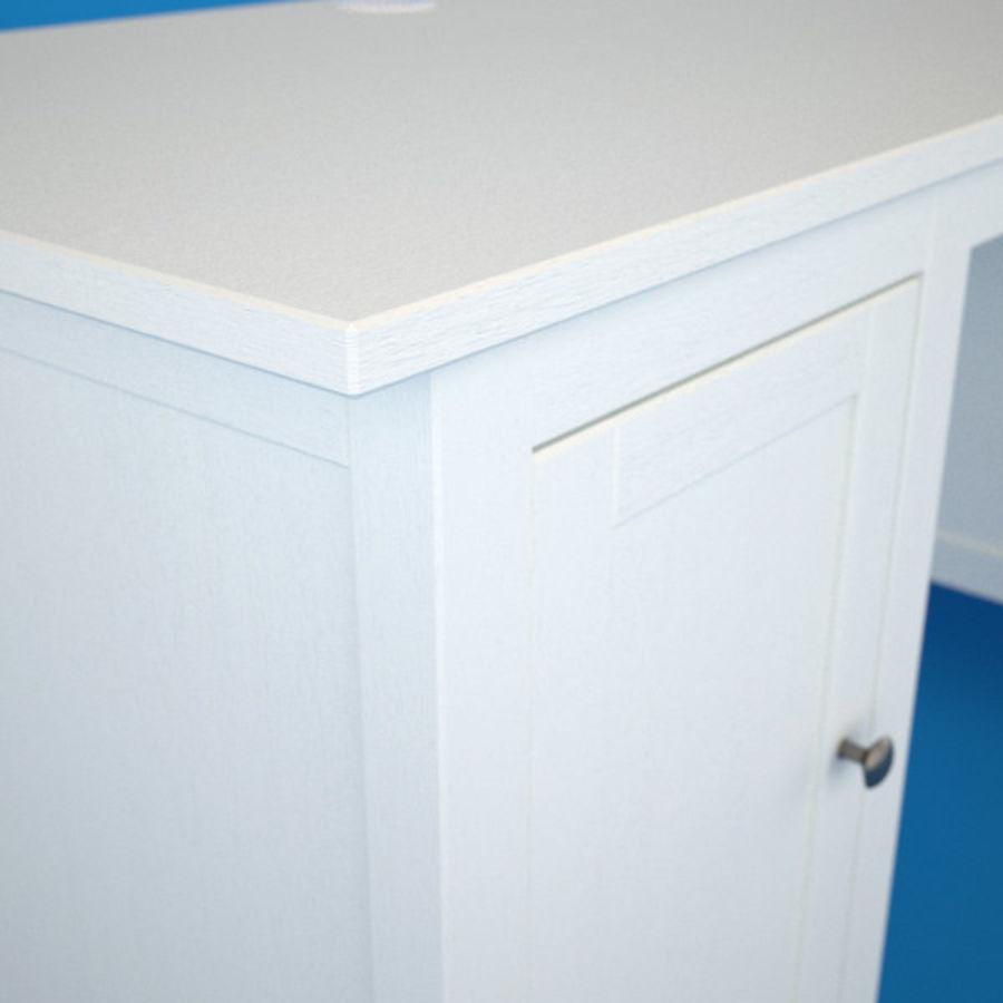 Schreibtisch IKEA royalty-free 3d model - Preview no. 4