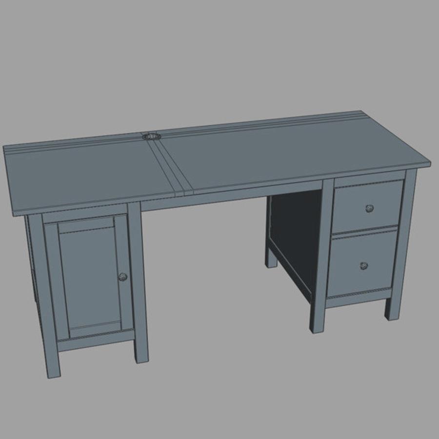 Schreibtisch IKEA royalty-free 3d model - Preview no. 12