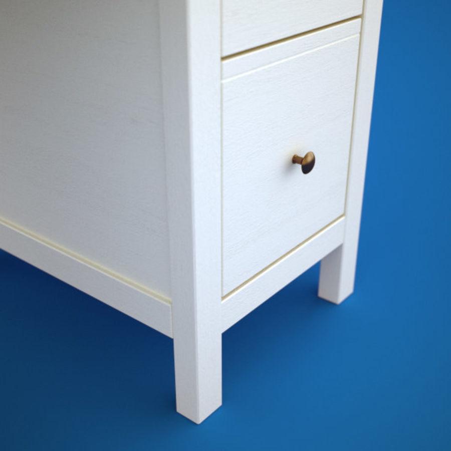 Schreibtisch IKEA royalty-free 3d model - Preview no. 2