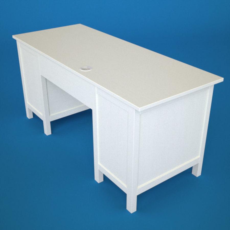 Schreibtisch IKEA royalty-free 3d model - Preview no. 6