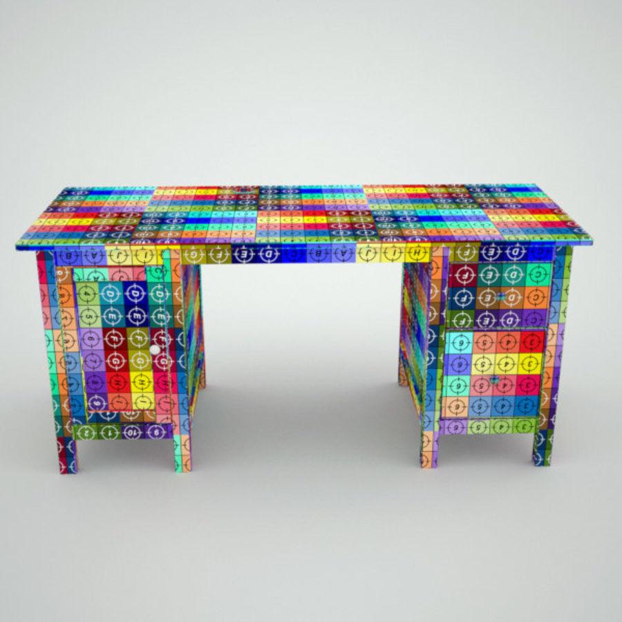 Schreibtisch IKEA royalty-free 3d model - Preview no. 9