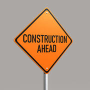 Construction Sign 3d model