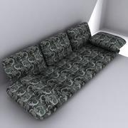 Напольный диван 3d model