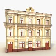 现代建筑3门 3d model