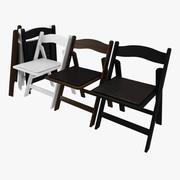 折りたたみ椅子 3d model
