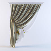 Curtains 23 3d model