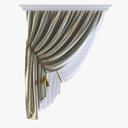 Curtains 23 3d model