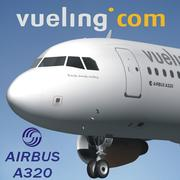 AIRBUS A320 VUELING 3d model