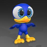 Cartoon Bird 3d model