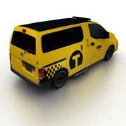 日产NV200出租车2014 3d model