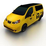 Nissan NV200 Taxi 2014 3d model
