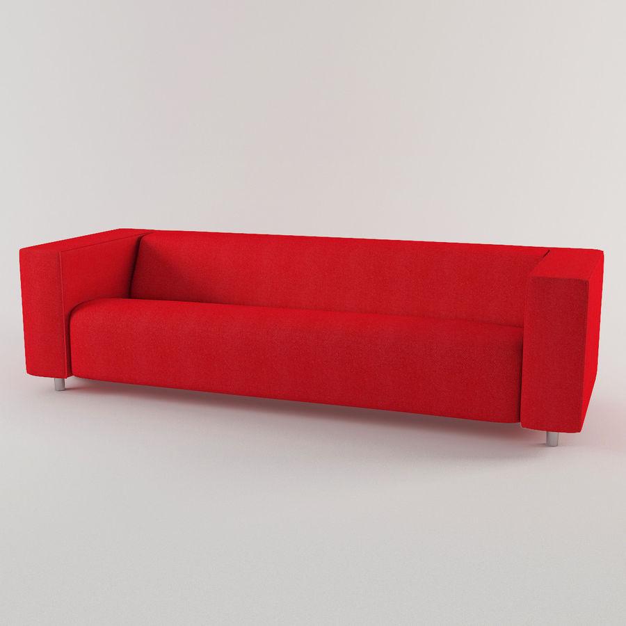 Ikea Klippan Sofa 3d Model 39 Max 3ds Obj Fbx Dwg
