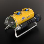 ROV Mini 3d model
