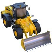 Excavadora modelo 3d