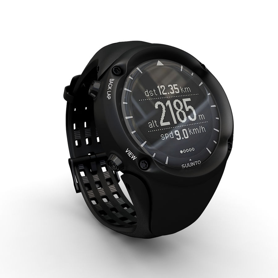 Suunto Ambit Watches royalty-free 3d model - Preview no. 2