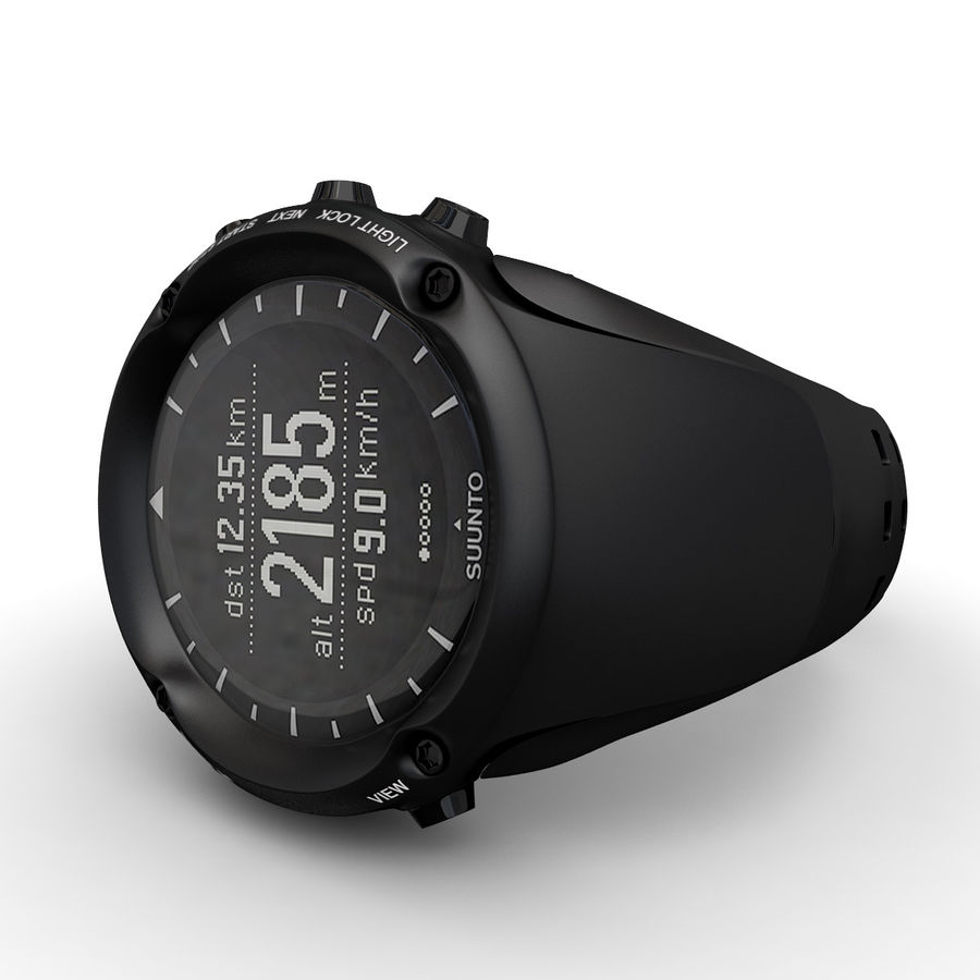 Suunto Ambit Watches royalty-free 3d model - Preview no. 3