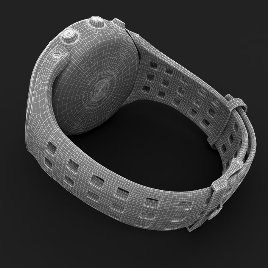 Suunto Ambit Watches royalty-free 3d model - Preview no. 7