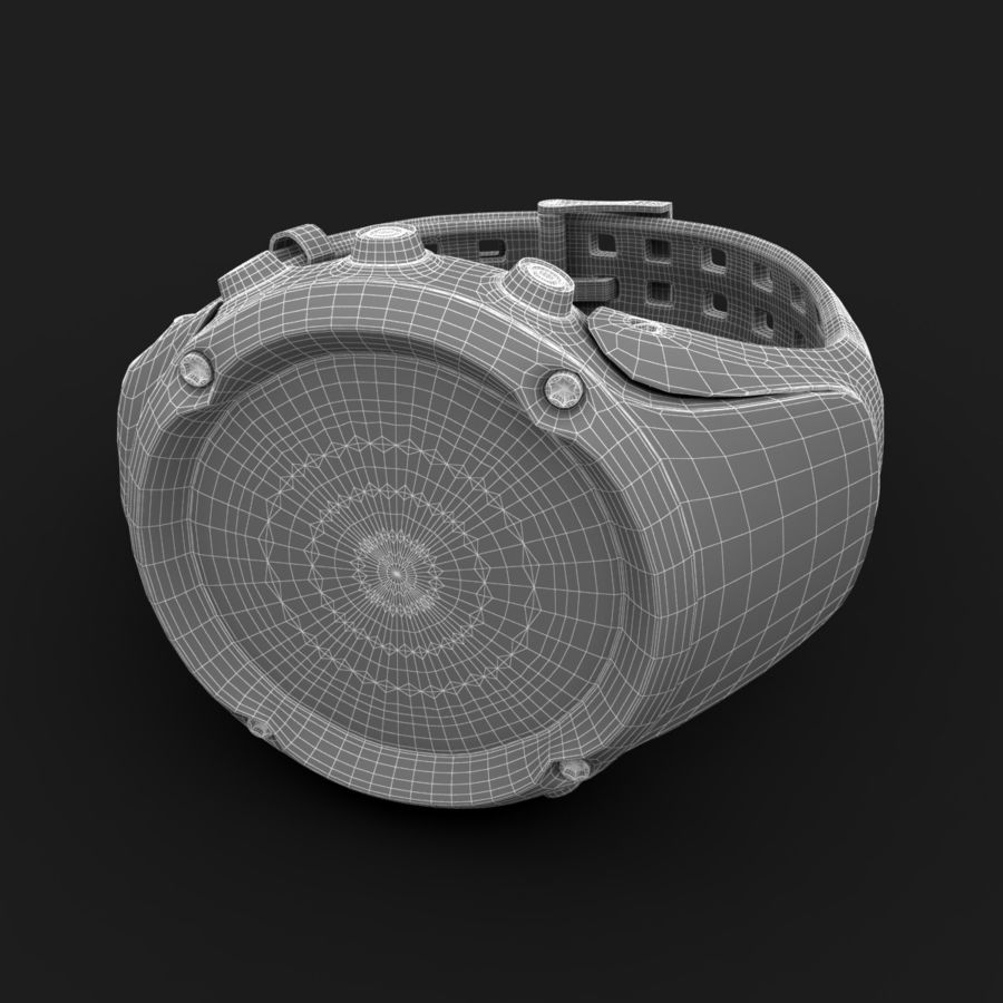 Suunto Ambit Watches royalty-free 3d model - Preview no. 8
