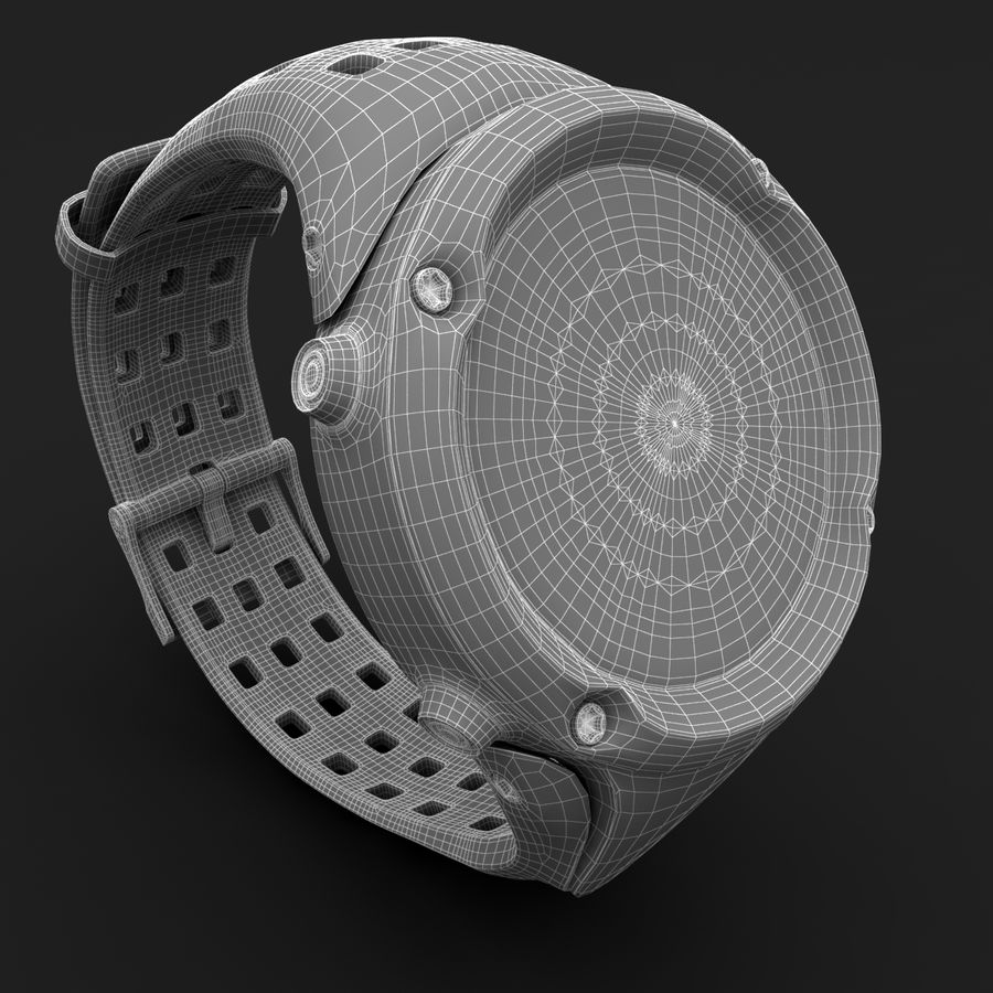 Suunto Ambit Watches royalty-free 3d model - Preview no. 9