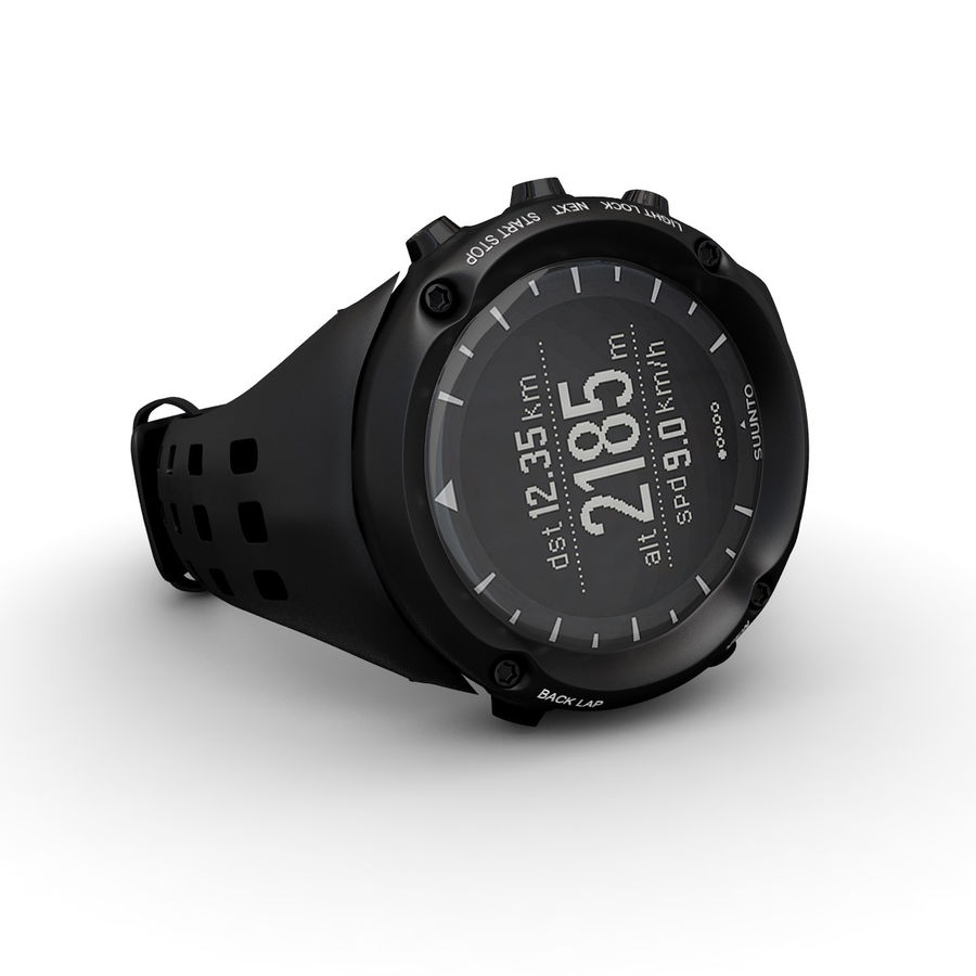 Suunto Ambit Watches royalty-free 3d model - Preview no. 1