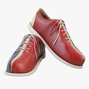 Bowling Shoes 3d model