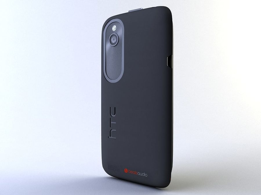 HTC Desire V royalty-free 3d model - Preview no. 4