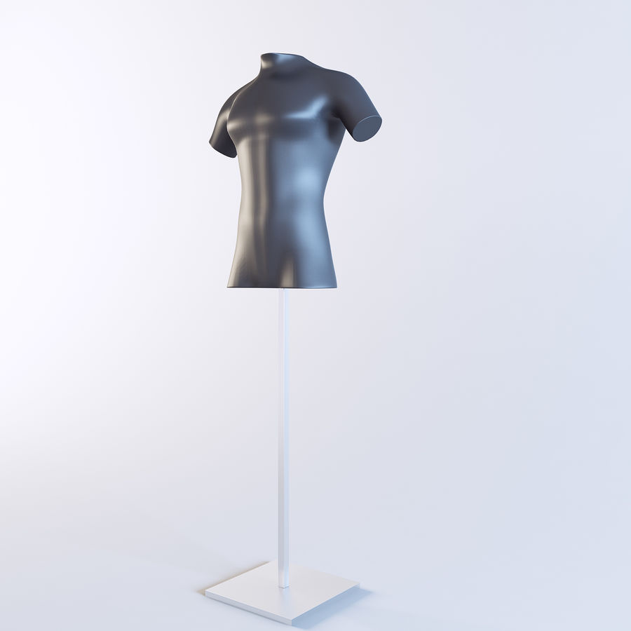 Mannequin Homme royalty-free 3d model - Preview no. 4