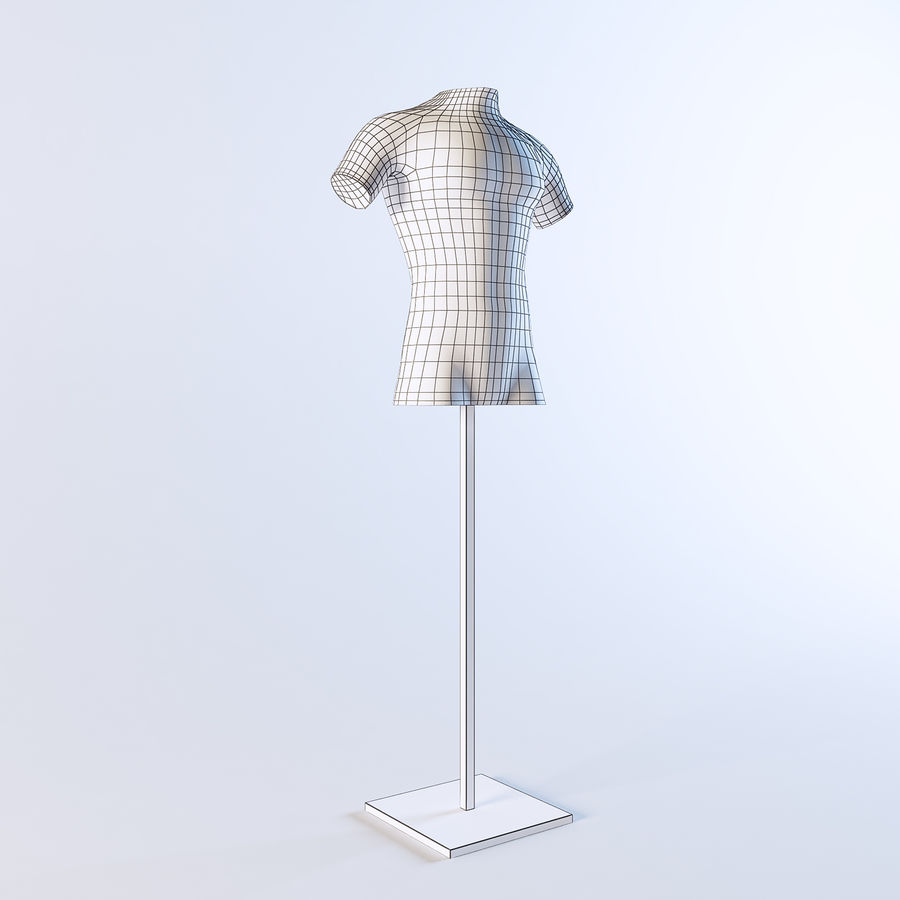 Mannequin Homme royalty-free 3d model - Preview no. 10