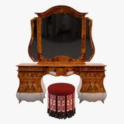 Dressing Table(1) 3d model
