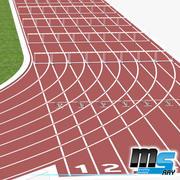 Conjunto de Atletismo 3d model
