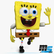 Bob Sponge Kanciastoporty 3d model
