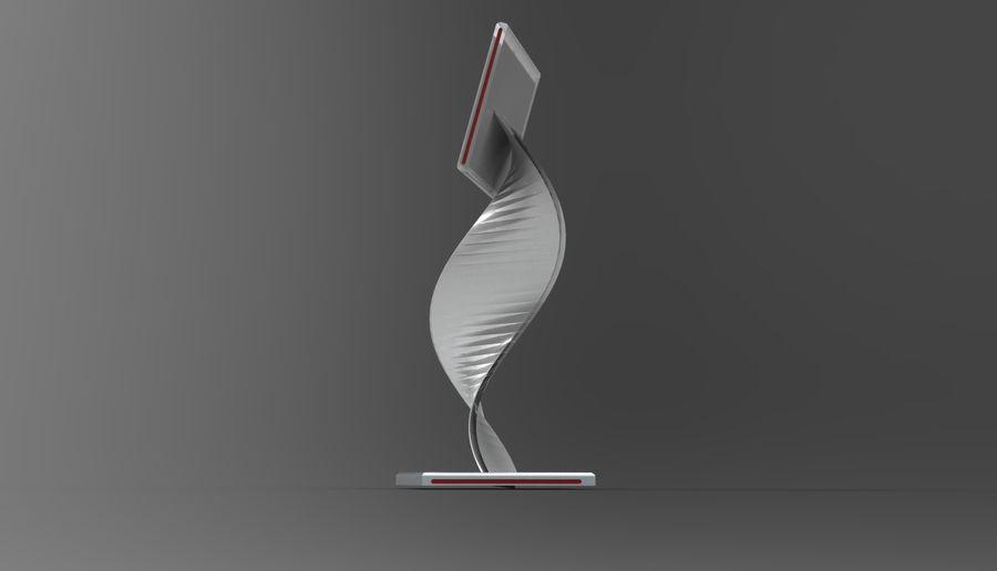 Kiosk royalty-free 3d model - Preview no. 5