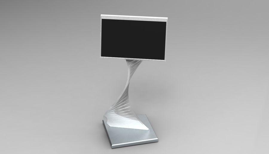 Kiosk royalty-free 3d model - Preview no. 4