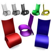 设计椅2 3d model