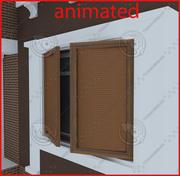 Blind jalousie window 01 3d model