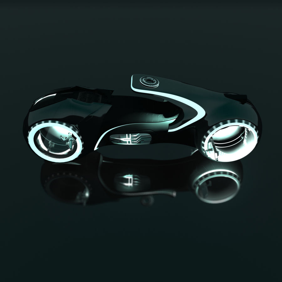 特隆轻型自行车 royalty-free 3d model - Preview no. 2