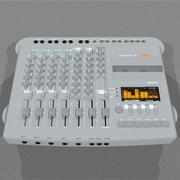 Cassetterecorder met vier sporen: C4D-formaat 3d model