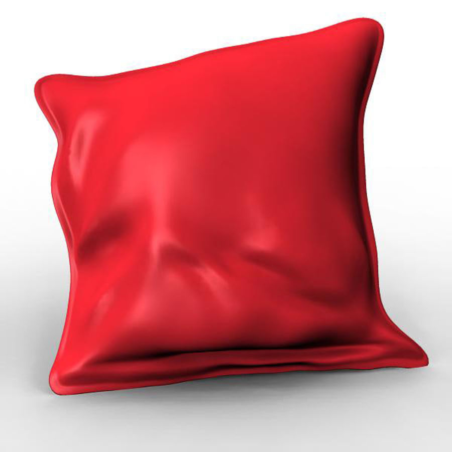Cushion royalty-free 3d model - Preview no. 4