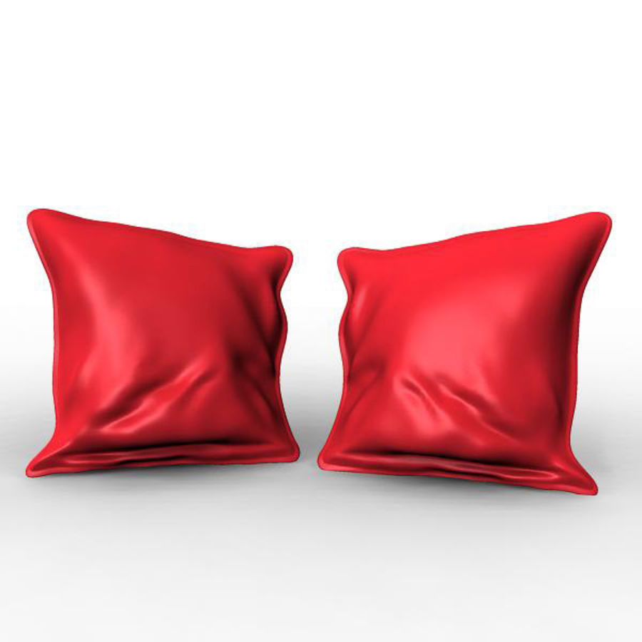 Cushion royalty-free 3d model - Preview no. 2