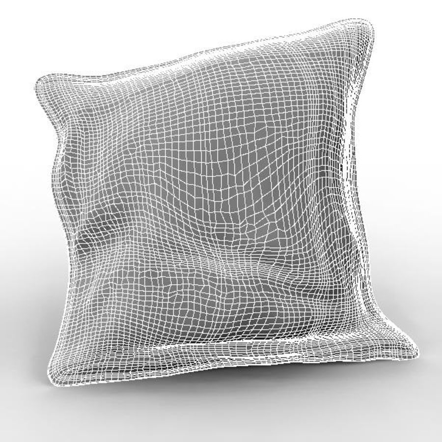 Cushion royalty-free 3d model - Preview no. 5