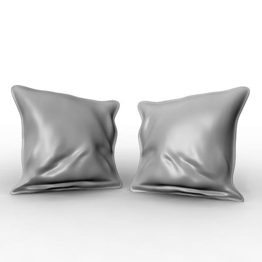 Cushion royalty-free 3d model - Preview no. 3