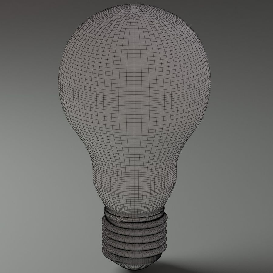 Light Bulb royalty-free 3d model - Preview no. 9