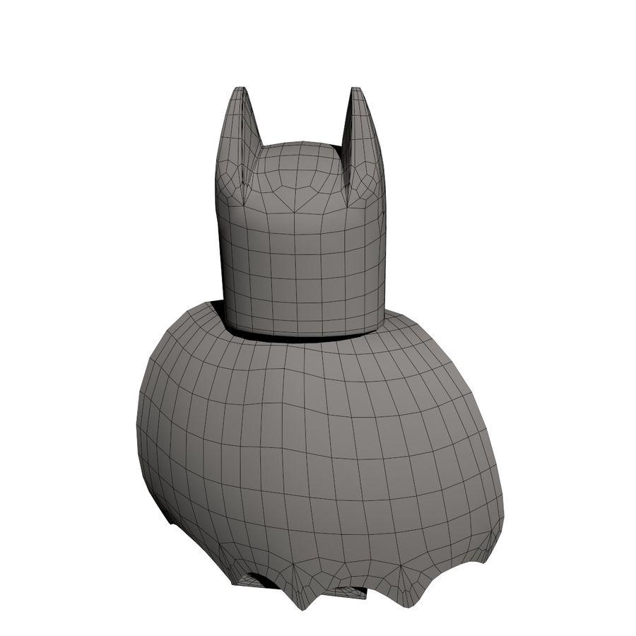 배트맨 레고 피규어 royalty-free 3d model - Preview no. 7