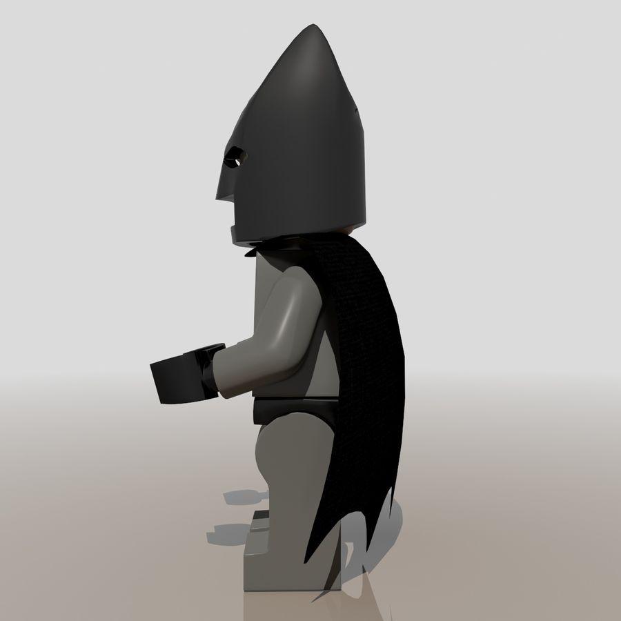 배트맨 레고 피규어 royalty-free 3d model - Preview no. 5